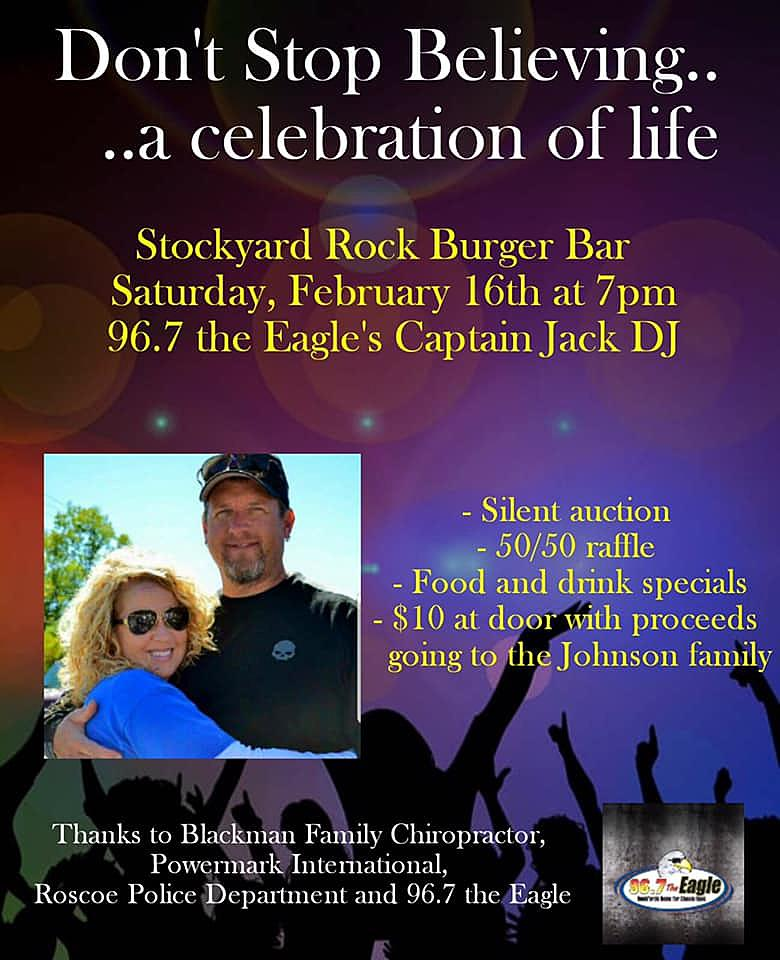Benefit For Eric Johnson Family , Feb 16th