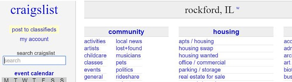 Free Stuff On Craigslist That Makes You Shake Your Head