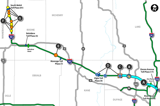 2017 Illinois Summer Interstate Construction Projects