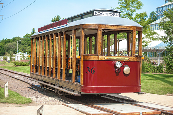 Rockford park district 39 s trolley car 36 will ride again - Riverview gardens school district jobs ...