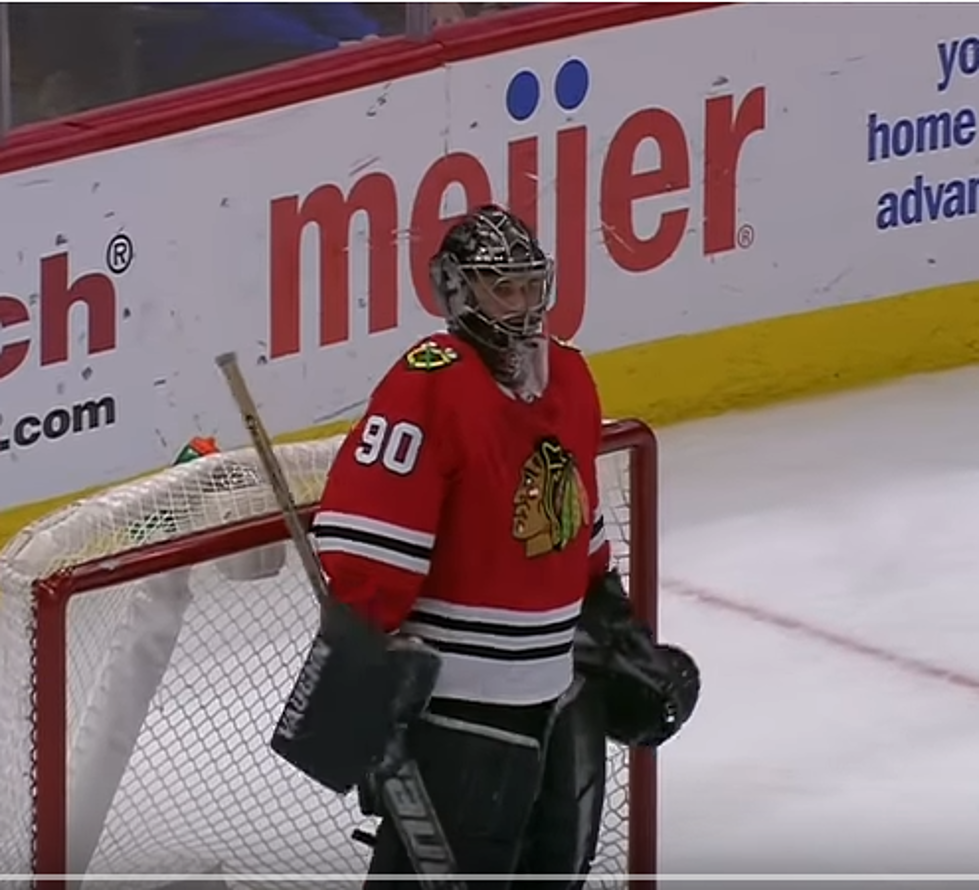 What Did The Blackhawks Pay The Emergency Goalie