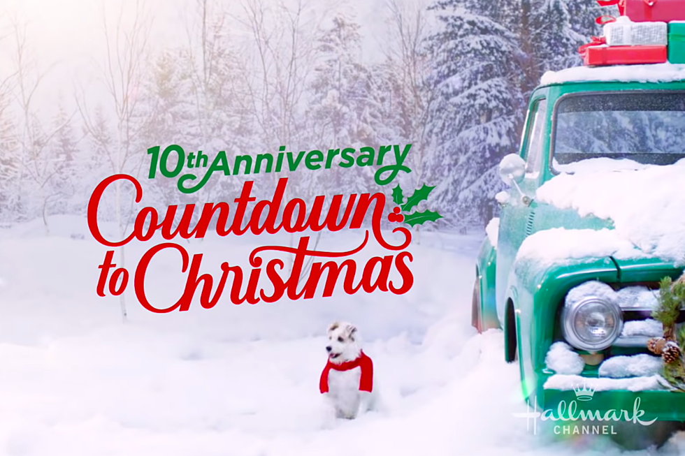 10th anniversary countdown to Christmas Hallmark Channel