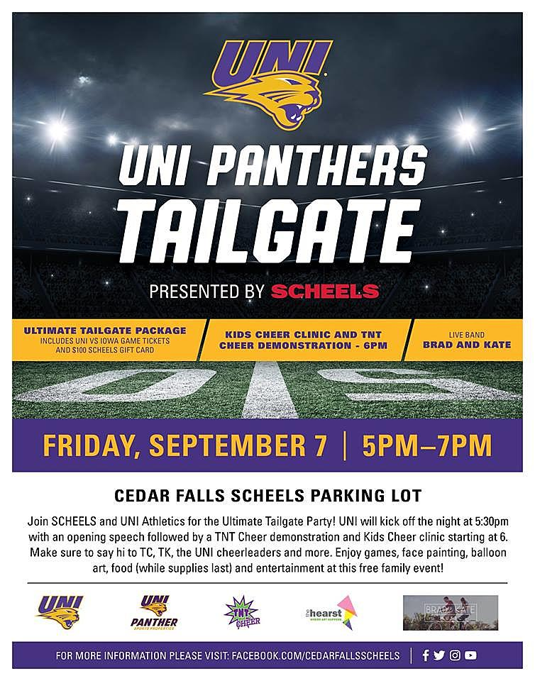 Tailgate This Friday With Uni Scheels