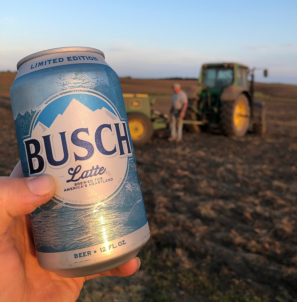 Rejoice, Iowans: New 'Busch Latte' Cans Debut In Iowa