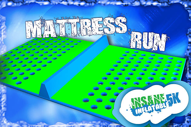Mattress Run Insane Inflatable 5K Obstacle