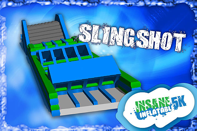Slingshot Insane Inflatable 5K Obstacle
