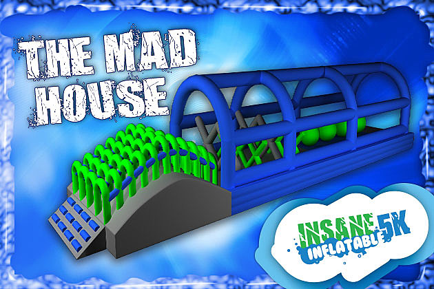 The Mad House Insane Inflatable 5K Obstacle