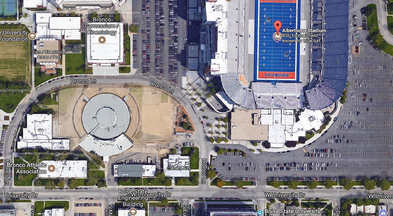 New Boise State Football Tailgating Spot