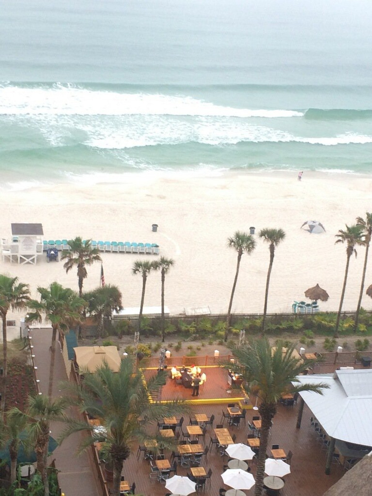 View From The Holiday Inn Resort Panama City Beach Florida