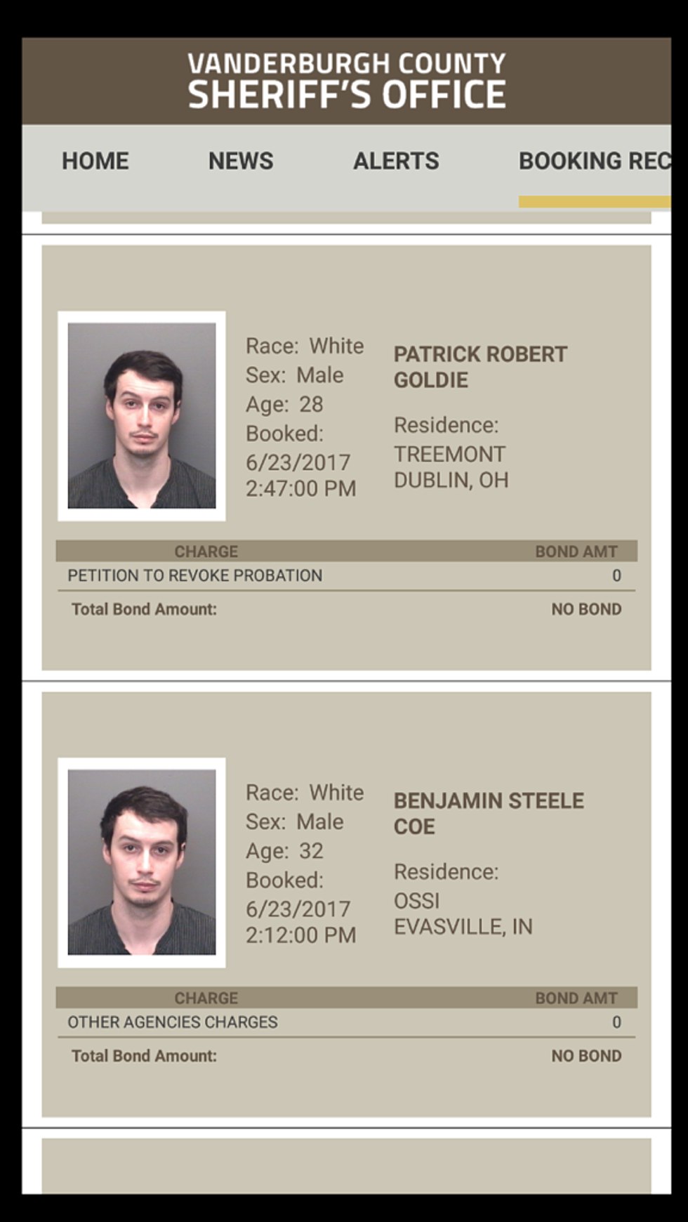 What's Up With These Evansville Mugshots? [PHOTO]