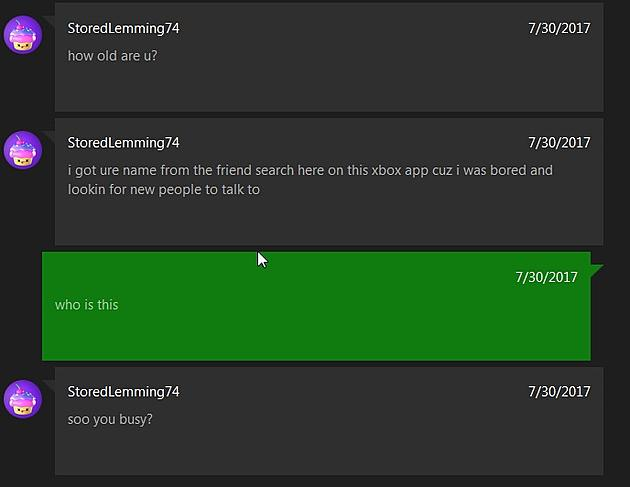 BEWARE! Porn Spam Bots Have Invaded Xbox Live! (PICS)