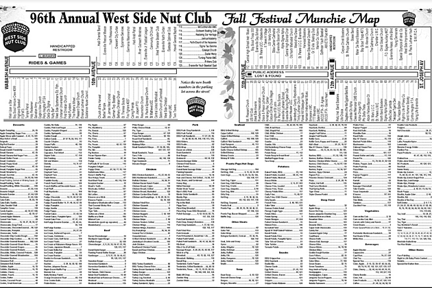 Download the 2017 Nut Club Fall Festival Munchie Map