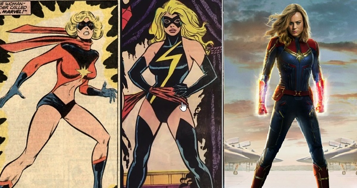 Which Captain Marvel Costume Do You Like Best Shop the top 25 most popular 1 at the best prices! which captain marvel costume do you