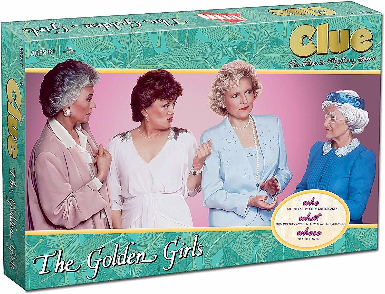 Trivial Pursuit Golden Girls Trivia GameGolden Girls TV Show Themed Gameto
