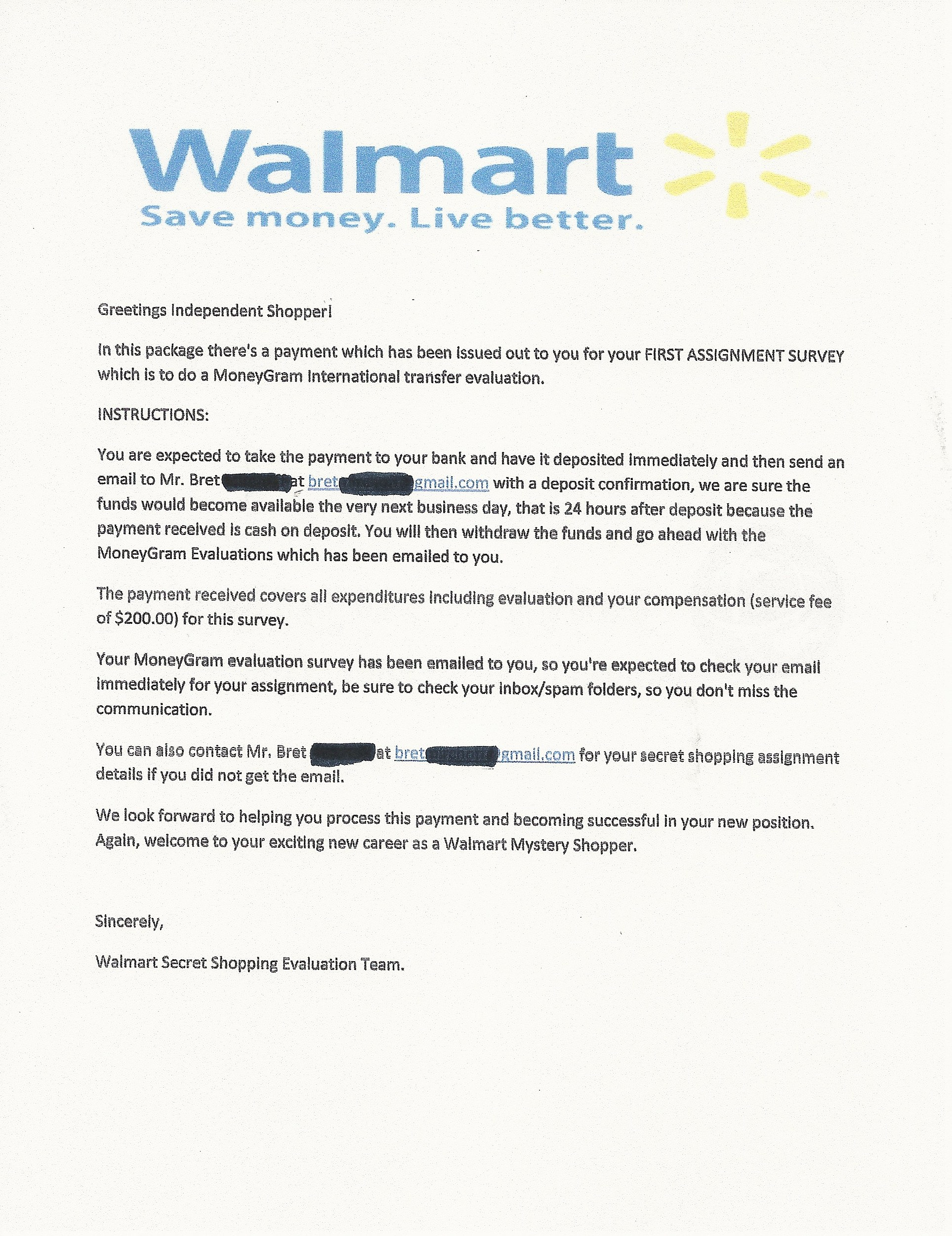Don't Get Scammed via the Mail By This 'Secret Shopper' Job