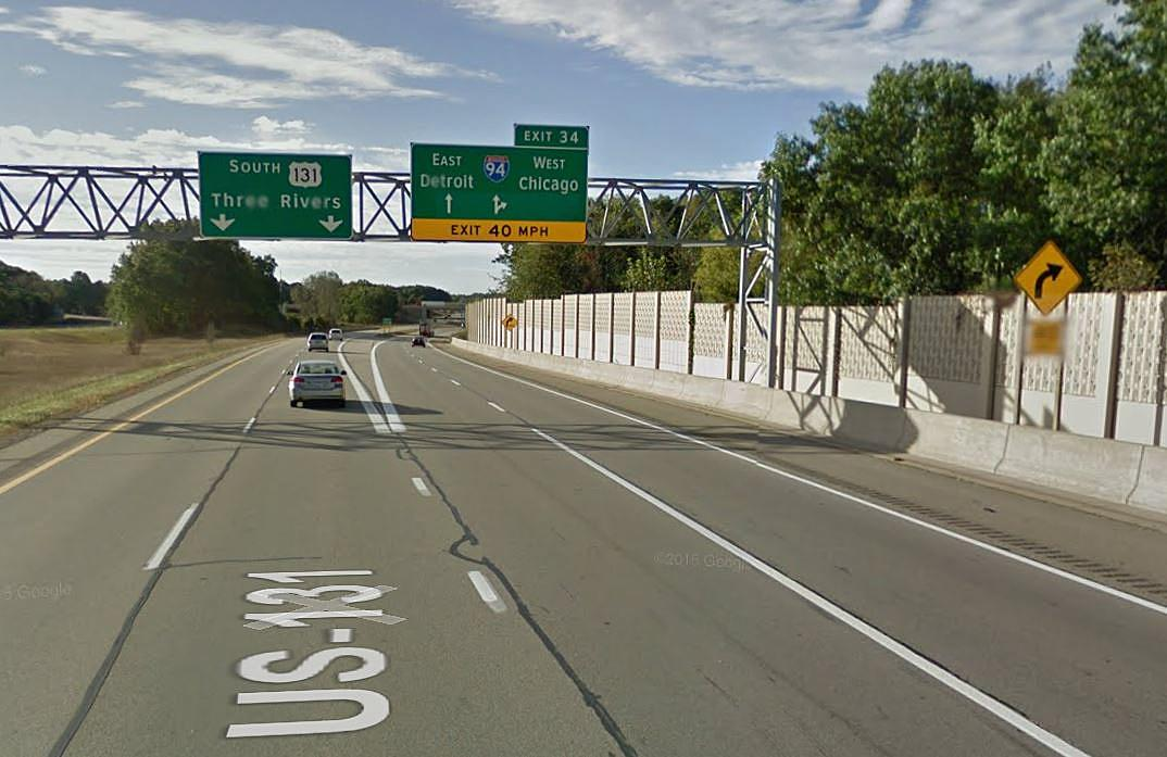 Construction To Close I-94 Ramp from US-131 this weekend