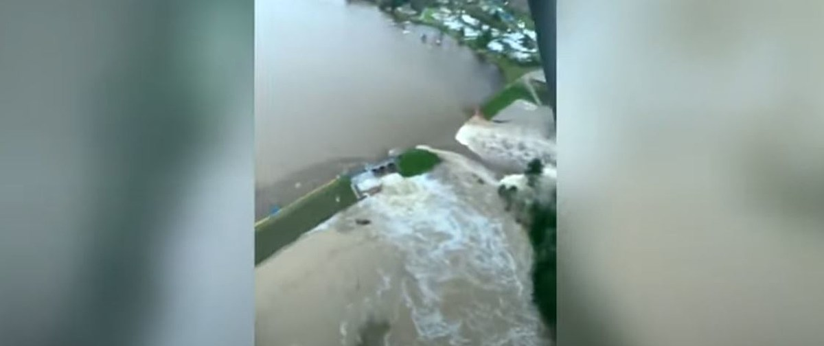 Dramatic Video Shows Multiple Dams Failing During Floods - kool1079.com