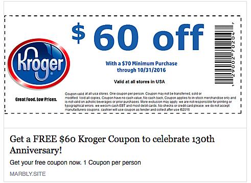 100 dollar kroger coupon on facebook