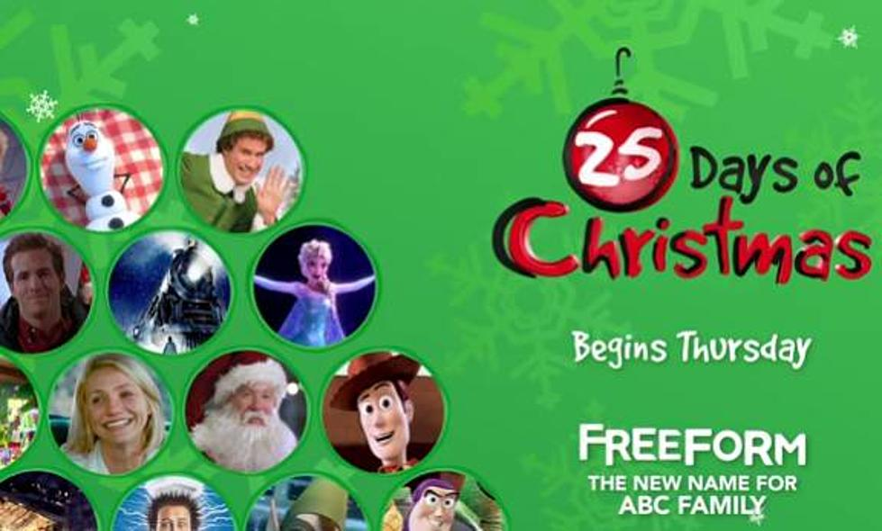 Freeform/ABC Family's 25 Days Of Christmas Schedule [VIDEO]
