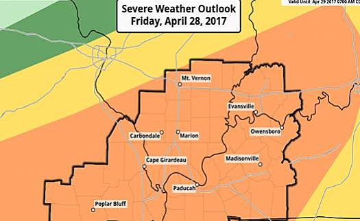 Severe Weather Possible Monday, Snow Friday?