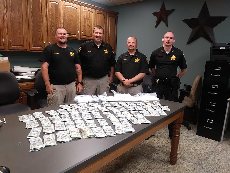 McLean County Sheriff's Dept Lands Major Drug Bust in Utica, KY