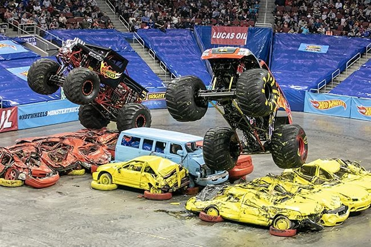 Kfc Yum Center Breaks Hot Wheels Monster Trucks Live Attendance