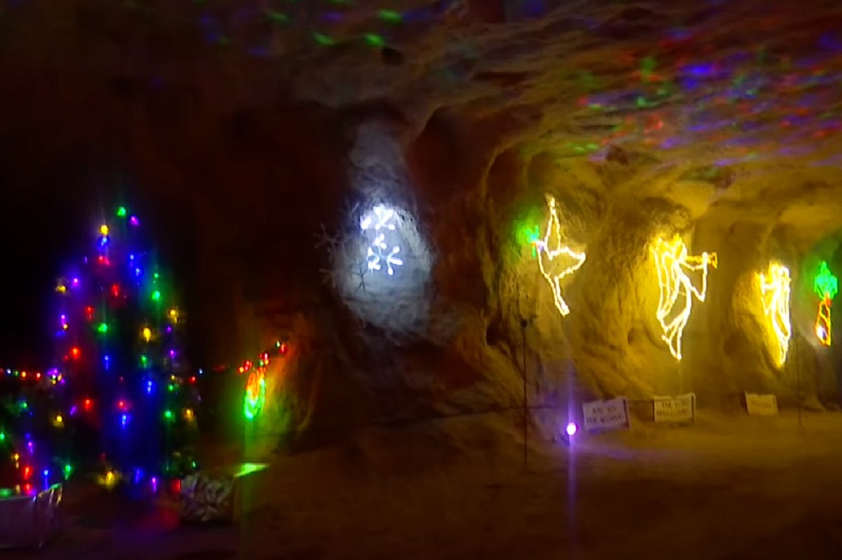 Eastern Ohio Christmas Cave 2020 Ohio's Free Christmas Cave Sounds Like the Perfect New Tradition