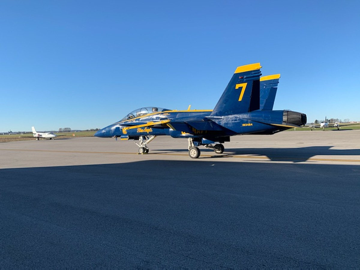 Blue Angels Soar into Town for 2021 Air Show Plans