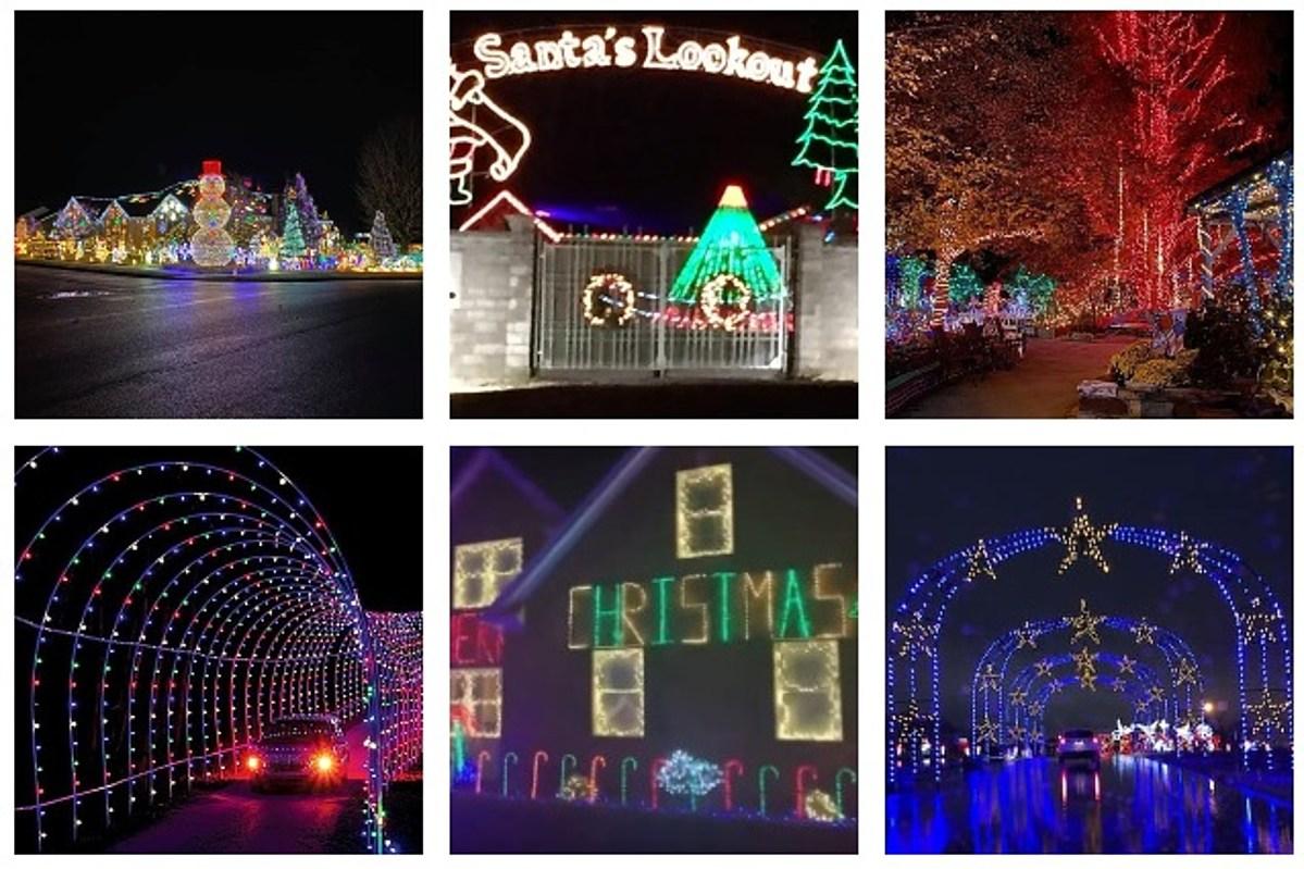 Owensboro, Ky Christmas Lights 2021 Christmas Lights Road Trip Guide Across Kentucky Indiana