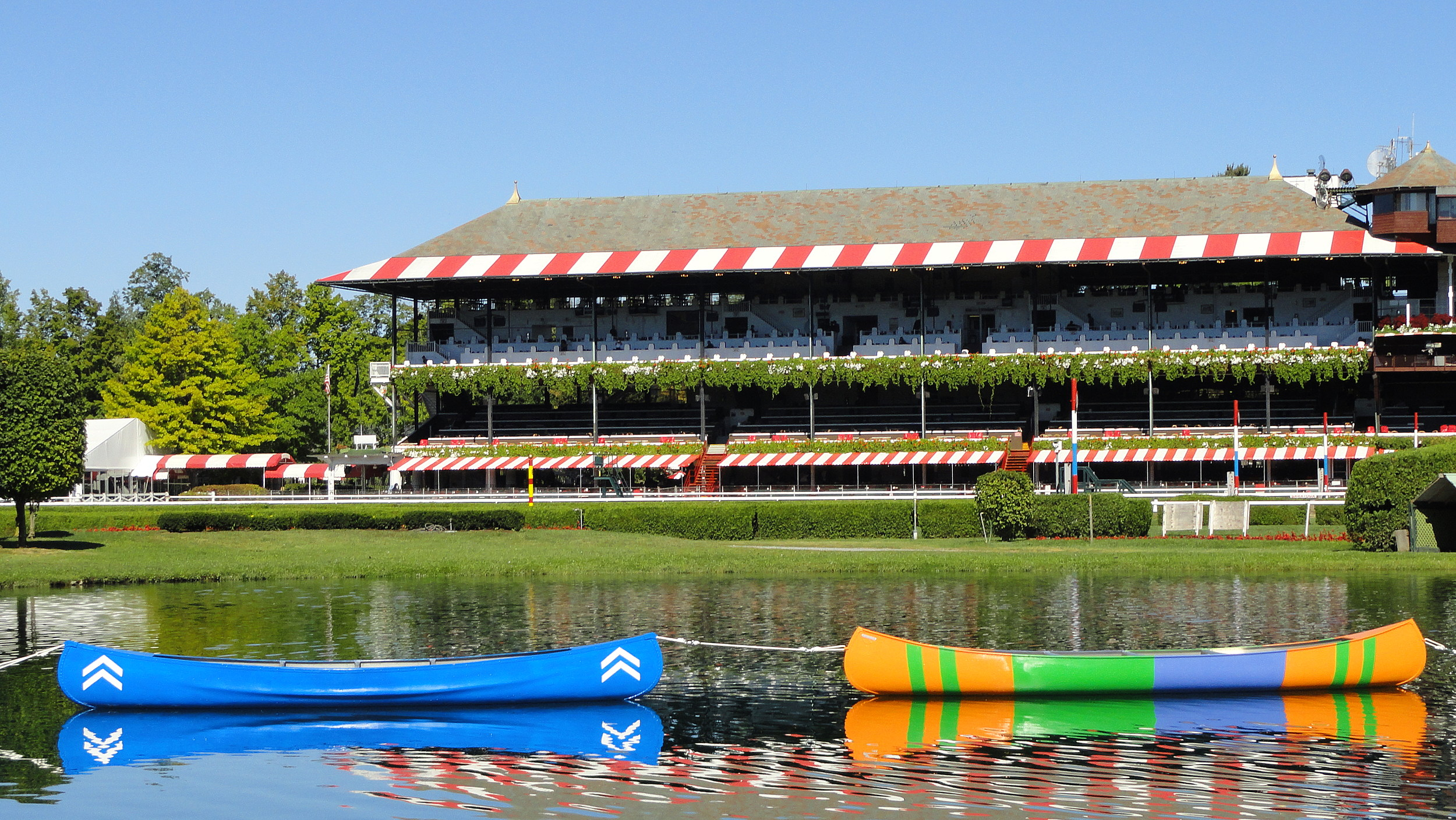 Travers Canoes Launched At Saratoga Race Course