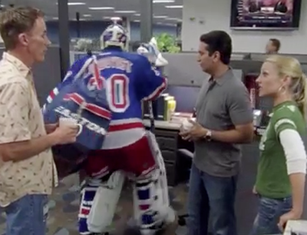 This Is Sportscenter Henrik Lundqvist Overdressed Video