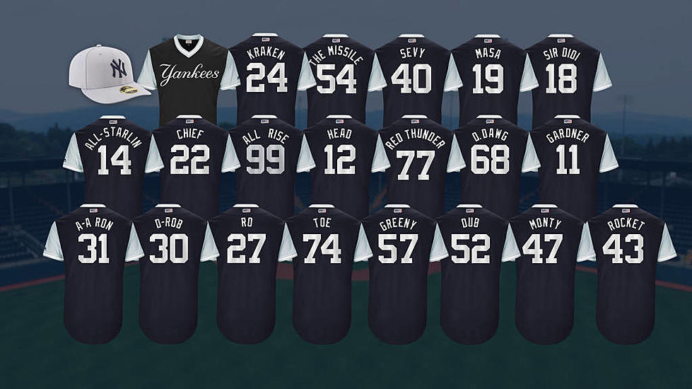 1f0935e667214 Take A Look At The Yankees Players Weekend Jerseys and Hat