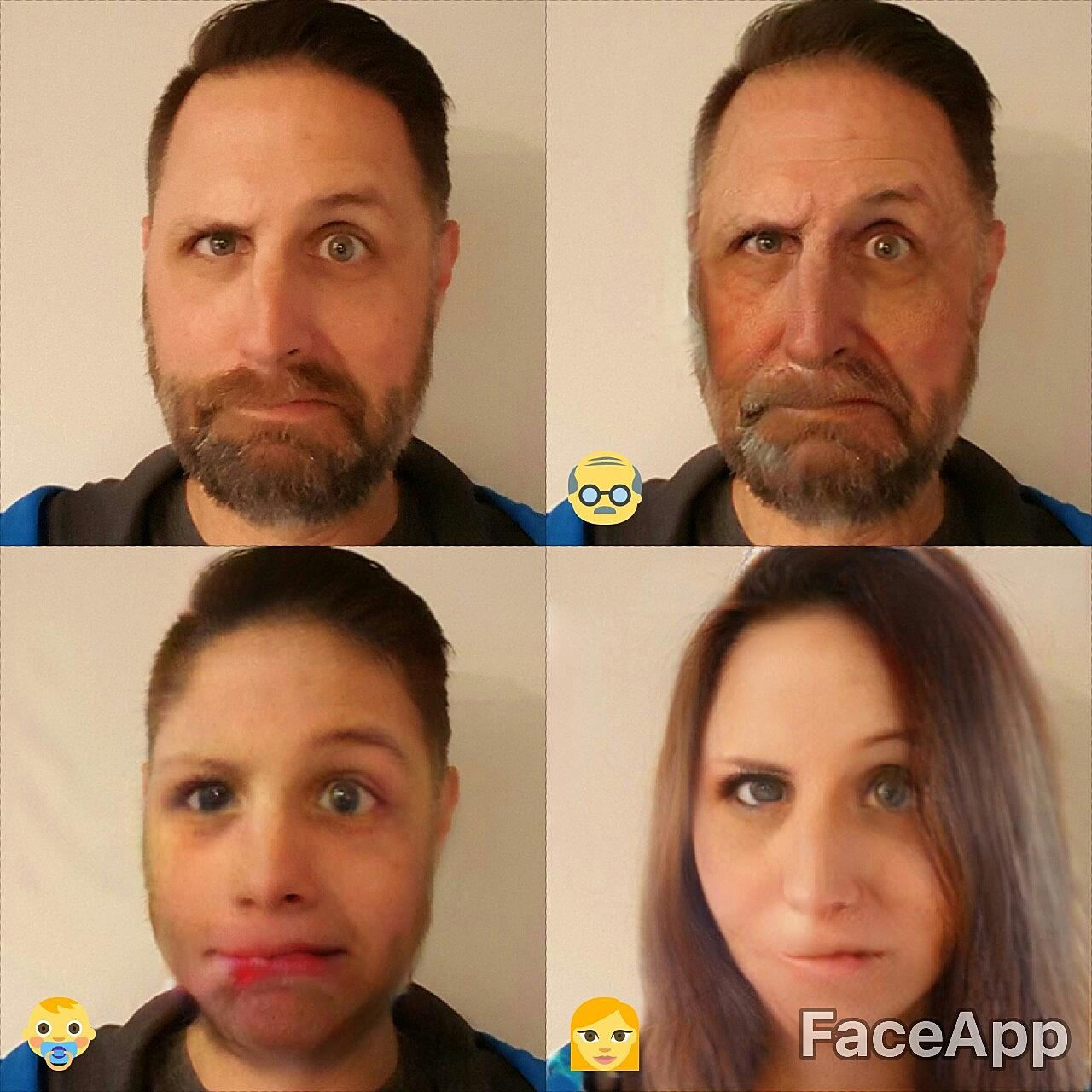 Bobby and Stacey Play With FaceApp - You Should Too!