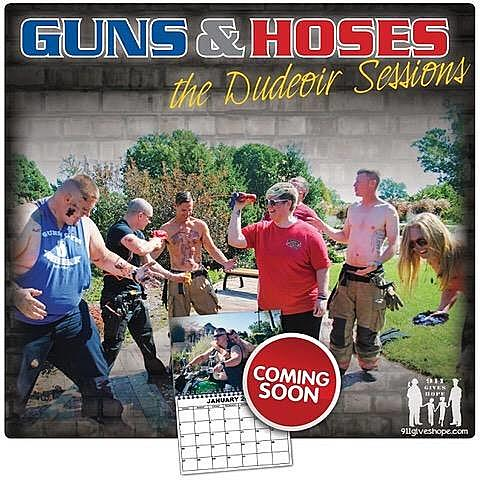 Guns & Hoses Calendar will be Available for Christmas!