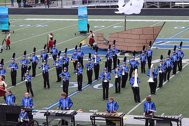 High School Marching Band State Competition Finals