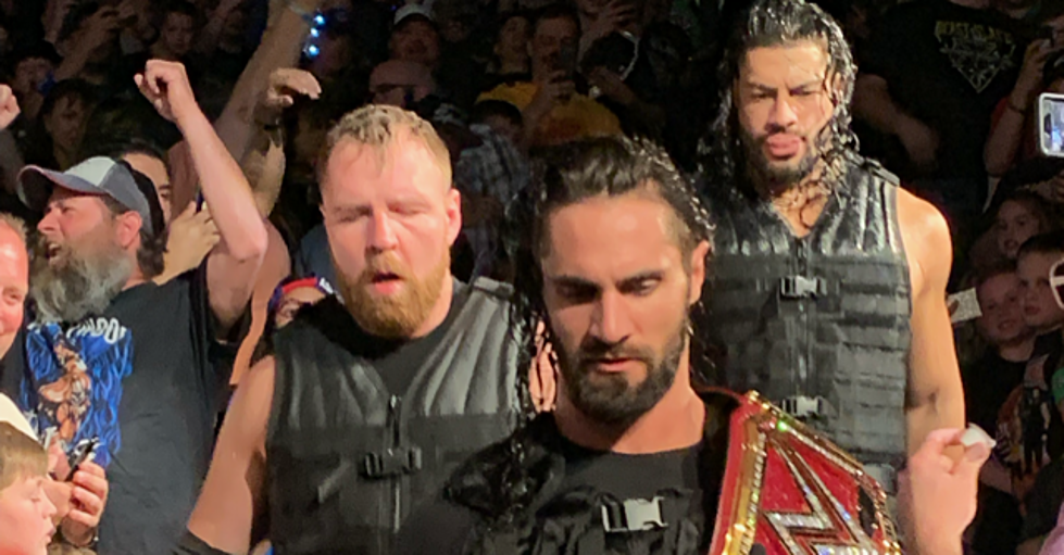 WWE Live 4/21/19: The Good, The Bad and The Boring