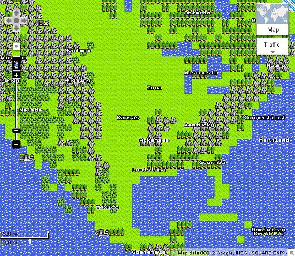 Google Maps April Fools Prank [VIDEO]