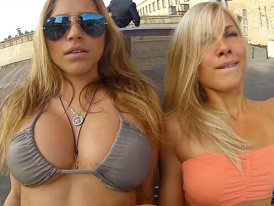 Nonnude groping boobs videos