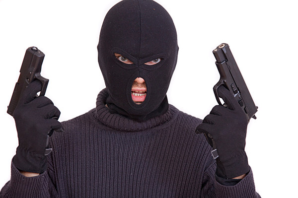 Ski Mask In A Bank Prank - With The Results You'd Expect
