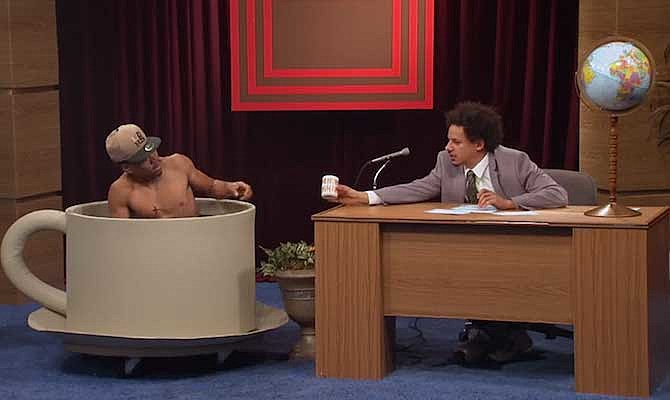 Eric Andre Saw Wu Tang Perform After Smoking Embalming Fluid Xxl Following a severe spinal injury, eric asks hannibal to host the show. eric andre saw wu tang perform after