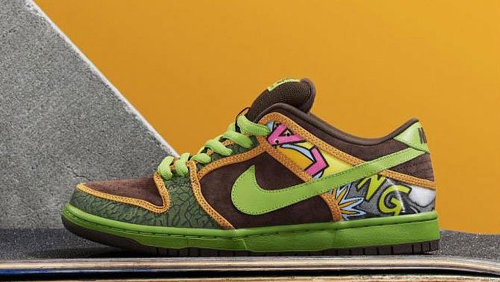 "timeless design ee3fd a3147 Nike SB Dunk Low ""De La Soul"" - XXL"