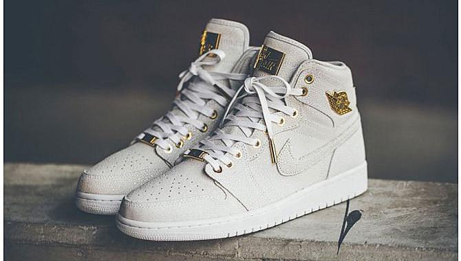 "Air Jordan 1 ""Pinnacle"" 24K Gold Pack - XXL"