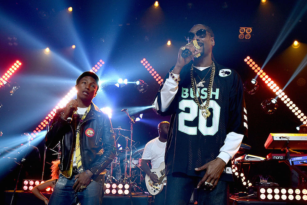 Snoop Dogg and Pharrell Treat Fans to a Stellar Show in Los