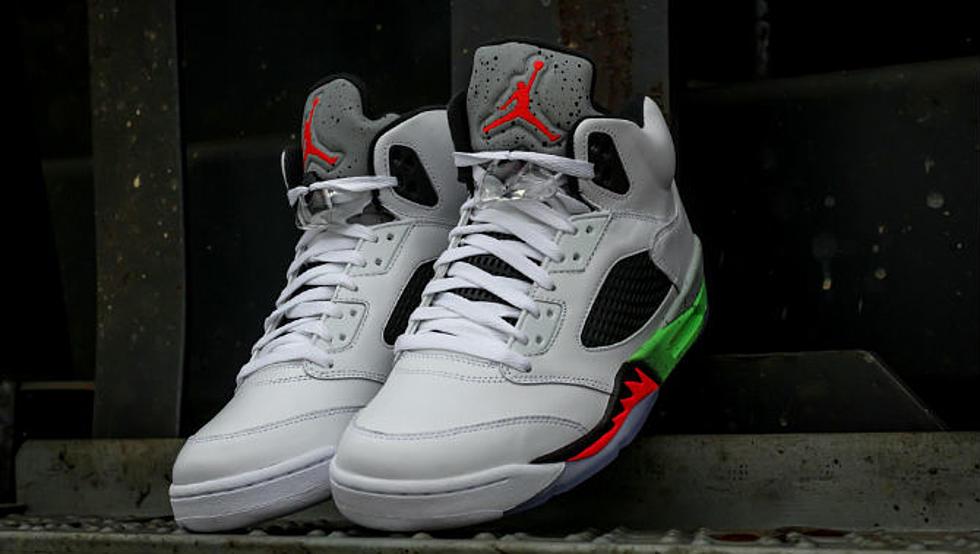 """4a5d82a3bcf7 Air Jordan 5 Retro """"Poison Green"""" - XXL"""