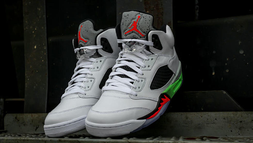 "half off 6fee1 9ad65 Air Jordan 5 Retro ""Poison Green"" - XXL"