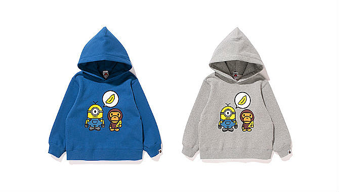 d86c0dfc147b A Bathing Ape and Minions Collaborate On New Collection - XXL
