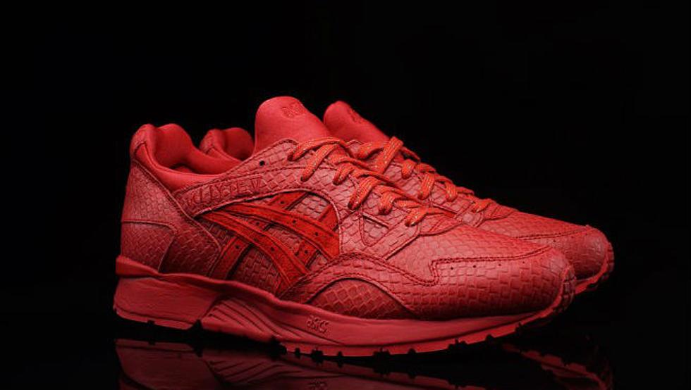 "purchase cheap b8843 3bb3c Asics Gel Lyte V ""All Red"" - XXL"