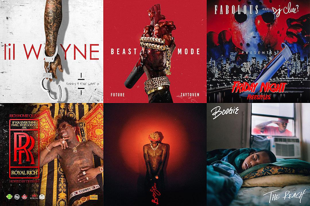top 10 rap mixtapes of all time