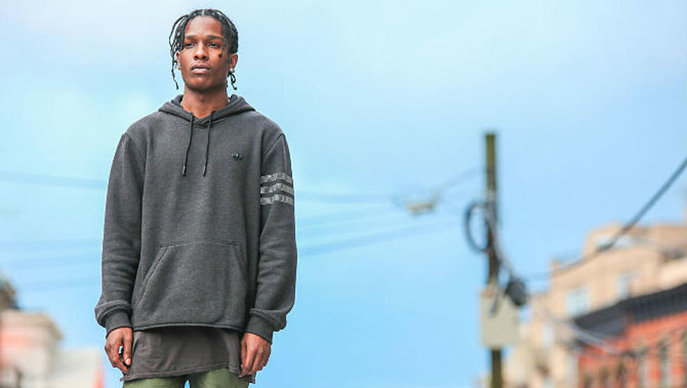recognized brands hot sale many fashionable A$AP Rocky Stars in Footlocker's New Campaign for the Adidas ...