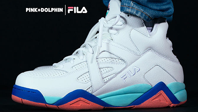 FILA and Pink Dolphin Come Together For the Vintage Cage XXL